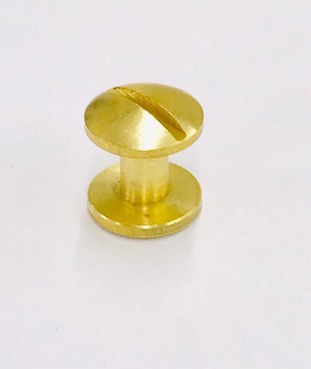น๊อตยึดแฟ้มสีทอง ขนาด 7 มม.(M7)