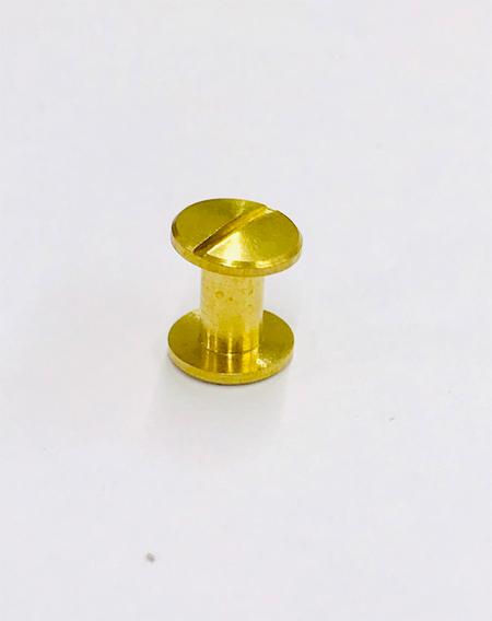 น๊อตยึดแฟ้มสีทอง ขนาด 6มม.(M6)