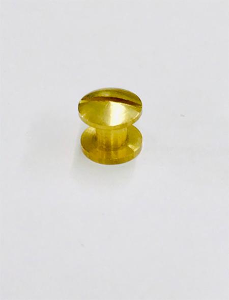 น๊อตยึดแฟ้มสีทอง ขนาด 4 มม.(M4)