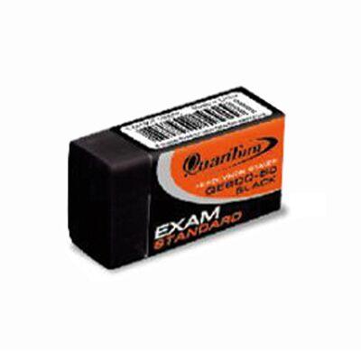 ยางลบดินสอ ควอนตั้ม QE600-50 สีดำ(กล่อง50ก้อน)
