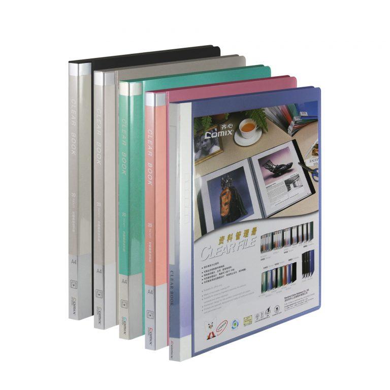 แฟ้มโชว์เอกสาร COMIX รุ่น DF20 A (20ซอง)