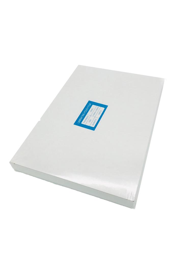 พลาสติกเคลือบบัตร EASYBIND A4*125 micron  (216x303mm.)