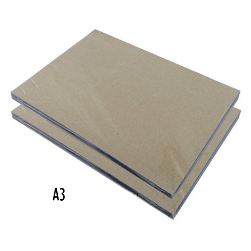 ปกพลาสติกใสเซลลูลอยด์A3x 150ไมครอน (celluloid) (ปกใสทำ face shield )