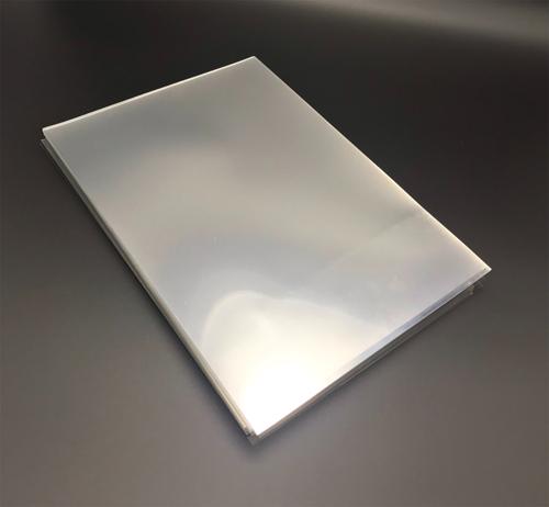 ปกใส PETขนาด A4 หนา200ไมครอน( 0.20มม.) (พลาสติกใสทำ FACE SHIELD) 100แผ่น