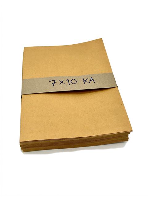 ซองเอกสารน้ำตาล 7x10นิ้ว KA (50ใบ)อย่างดี ราคา/แพ็ค50ซอง