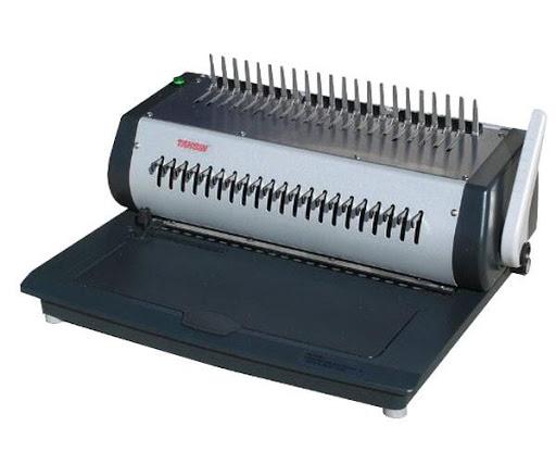 เครื่องเจาะแบบไฟฟ้า และเข้าเล่ม แบบมือโยก TCC-2100E