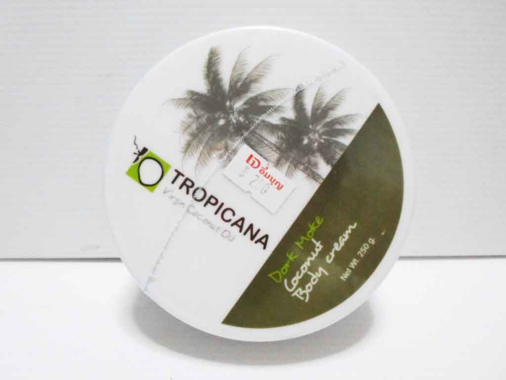 Coconut Body cream  Tropicana กลิ่นโมก 250g