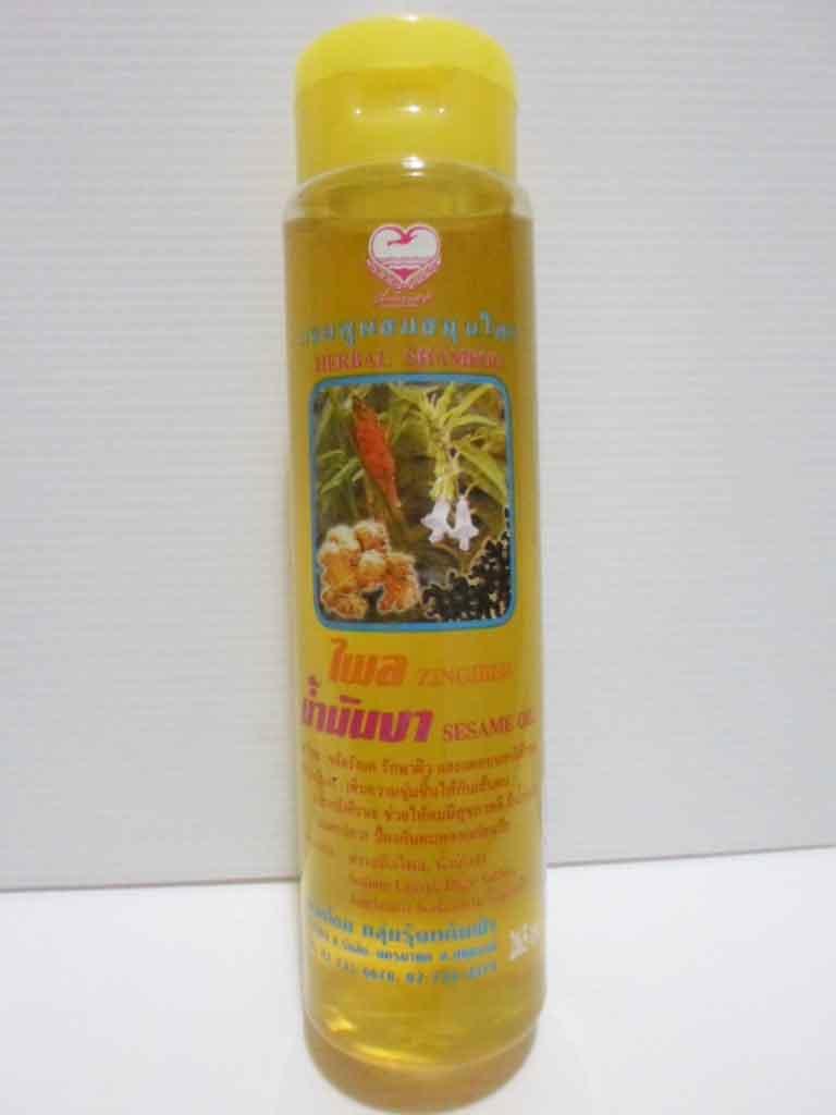 แชมพูไพล-น้ำมันงาเพื่อนรัก(กลม)  (แด่ชีวิต)  265 ml
