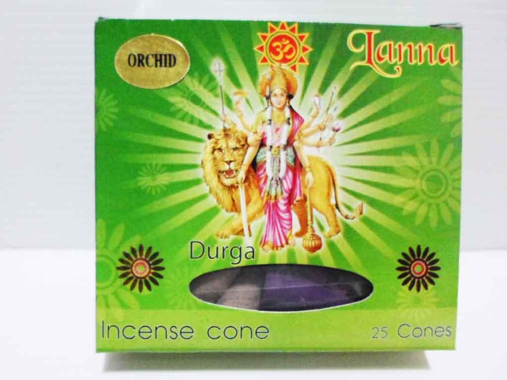 กำยานโคนพระแม่ทุรคา / Incense 25 cones 50g