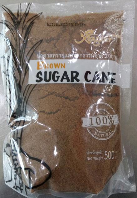 น้ำตาลทรายแดงธรรมชาติ(50g) ซองเดอร์