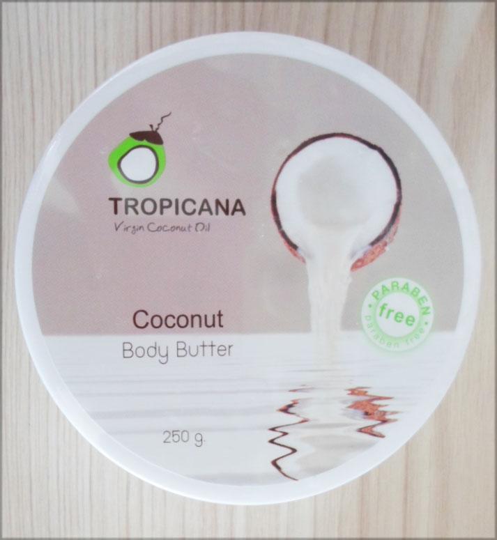 Coconut Body Butter Tropicana (250g)