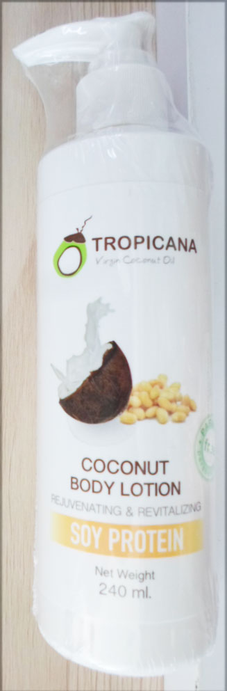 Soy Protein Coconut Body lotion Tropicana  240g