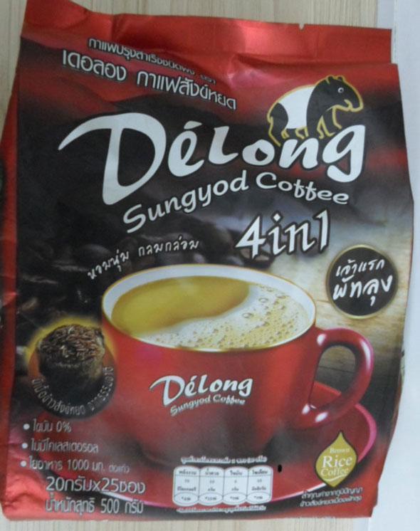 เดอลอง กาแฟข้าวสังข์หยด(25\'s)