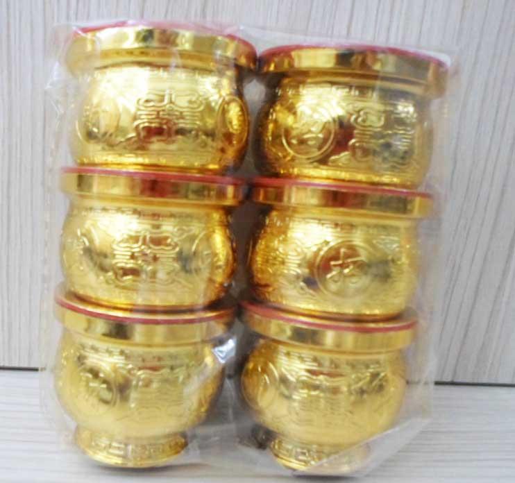 ชุดถ้วยน้ำชา6ใบทอง  DH1206 [69]