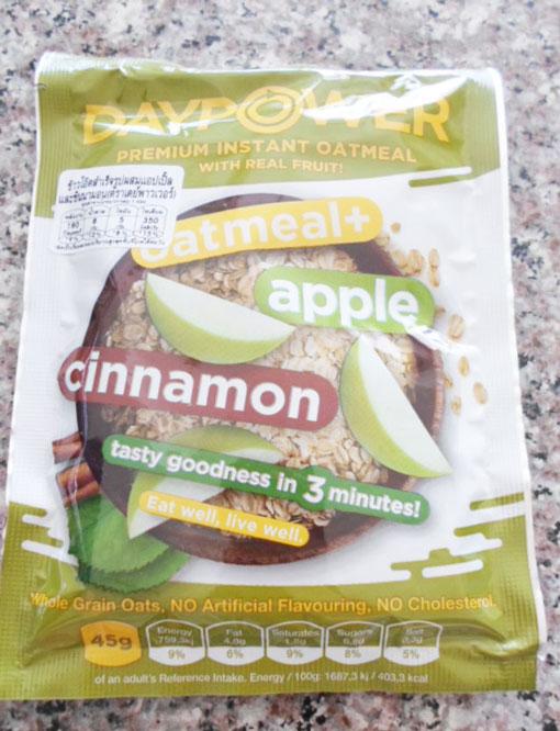 เดย์พวาวเวอร์-ข้าวโอ๊ตผสมแอปเปิ้ลชินนามอน