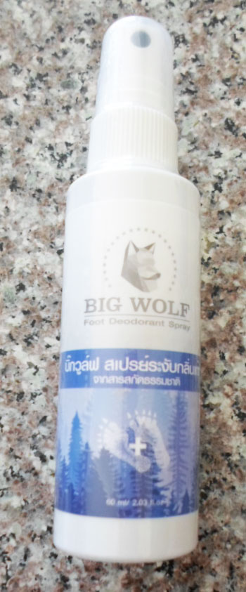 บิ๊กวูฟสเปรย์ระงับกลิ่นเท้า(60ml)