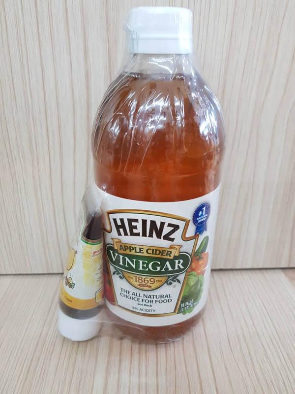 ไฮนซ์น้ำส้มสายชูหมักจากแอปเปิ้ล(473ml)