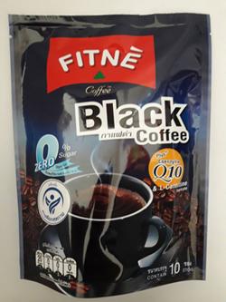 ฟิตเน่ แบล็คคอฟฟี คิวเท็น พลัสแอลคาร์เแนทีน Black Coffee FITNE