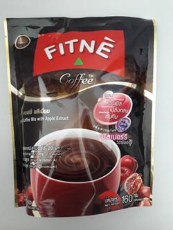 ฟิตเน่ คอฟฟี่-ผสมสารสกัดจากแอปเปิ้ล Coffee FITNE