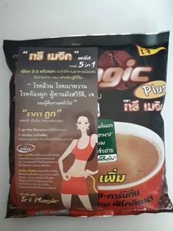 กาแฟ 3 in 1ทรีเมจิก Coffee 5 in 1