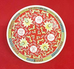 จานรอง(คละแบบ) 6นิ้ว 1400015