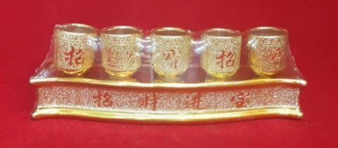 ชุดน้ำชา5ใบทอง(ฐาน)1400122