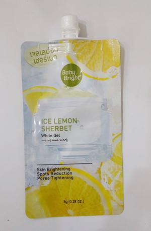BBไอซ์เลม่อนเวอร์เบทไวท์เจล Ice Lemon Sherbet White Get(8g)