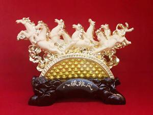 ม้าทองทราย 8ตัว+ก้อนทอง1800362