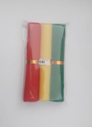 ผ้าแพรมงคล 3 สี