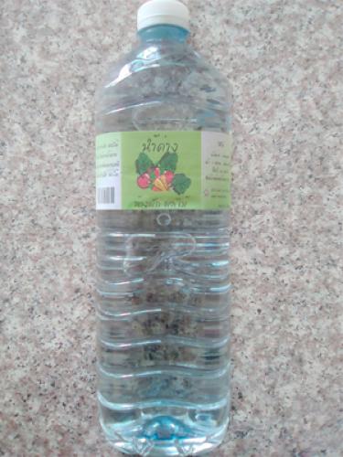น้ำด่างล้างผัก กลุ่มเพื่อนธรรม(1.5lit)