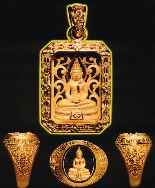 สั่งจองหลวงพ่อโสธรหล่อโบราณเทดินไทยนวโลหะแก่ทองคำรุ่นแรก  รุ่น สร้างอุโบสถปี 2545 3