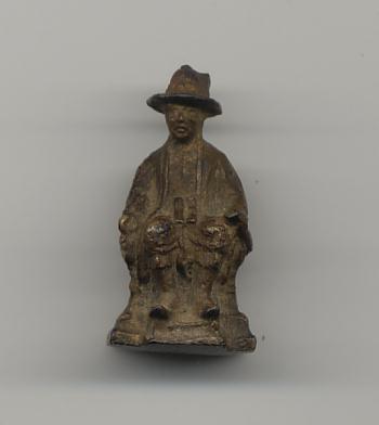 พระบรมรูปพระบาทสมเด็จพระเจ้าตากสินมหาราช วัดสุทัศน์ ท่านเจ้าคุณศรี ( สนธิ์ ) พ.ศ. 2494 -95 องค์ที่ 2