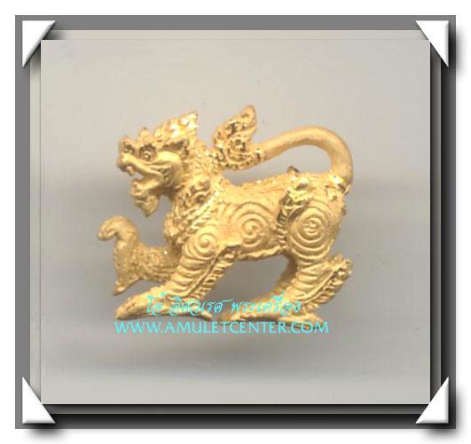 หลวงปู่หงษ์ สุสานทุ่งมน พญาสิงห์มหาลาภ เนื้อทองคำ