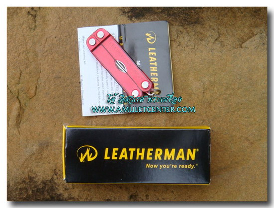 Leatherman Micra PE RED multi-tool  10 In 1