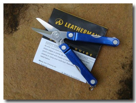 Leatherman Micra PE BLUE multi-tool 10 in 1 3