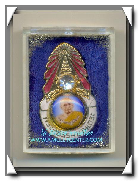 หลวงพ่อฤาษีลิงดำ เหรียญมงกุฎเพชร รุ่นแรก พระสุธรรมยานเถระ พร้อมกล่องเดิม สวยแชมป์ (5)