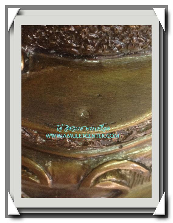 หลวงปู่หงษ์ พรหมปัญโญ สุสานทุ่งมน แม่นางกวักบูชาค้าขายดี มีกำไร ขนาด 5 นิ้ว พ.ศ.2546 4
