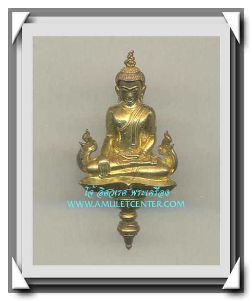 พระนเรศวรมหาราช ยอดธงบรรจุกริ่งเนื้อทองทิพย์ รุ่น อนุสรณ์ 430 ปี ประกาศเอกราชไทย พ.ศ.2558