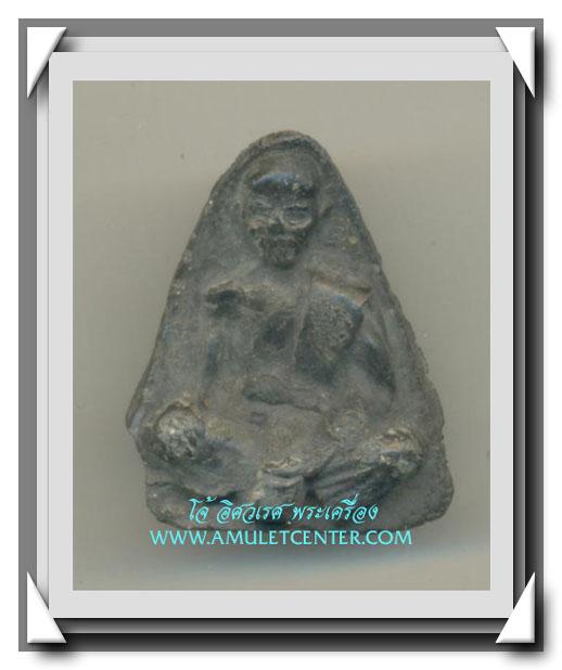 วัดประสาทบุญญาวาส พ.ศ.2506 เนื้อผงองค์ที่ 122 พิมพ์หลวงพ่อจง วัดประสาทบุญญาวาส