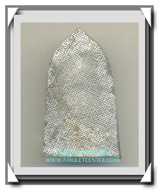 พระพุทธชินราชใบเสมาเนื้อชินเงิน(ปรอทขาว)รุ่นประทานพร วิหารพระพุทธชินราช พิษณุโลก พ.ศ.2547สวยแชมป์(3) 2