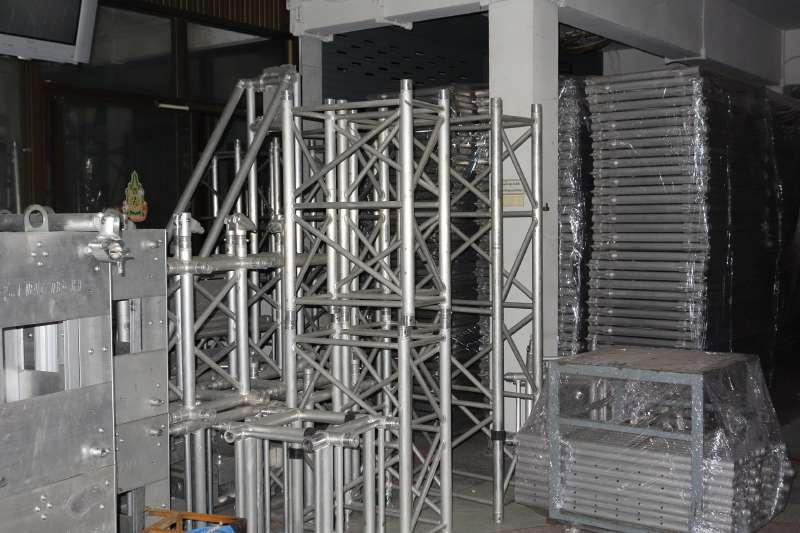 MOBILE STAGE เวทีอลูมิเนียม เวทีConcert ปรับระดับได้ ความสูง 1 เมตร ถึง 2 เมตร ติดตั้งได้ทุกพื้นที่ 14
