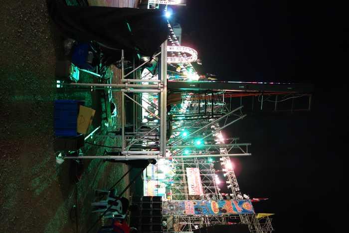 MOBILE STAGE เวทีอลูมิเนียม เวทีConcert ปรับระดับได้ ความสูง 1 เมตร ถึง 2 เมตร ติดตั้งได้ทุกพื้นที่ 15