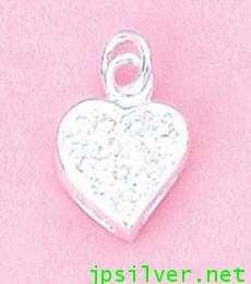 จี้พลอยรูปหัวใจ