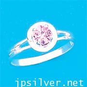 แหวนพลอยชมพู