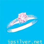 แหวนพลอยชมพู เพชรสวิสcz