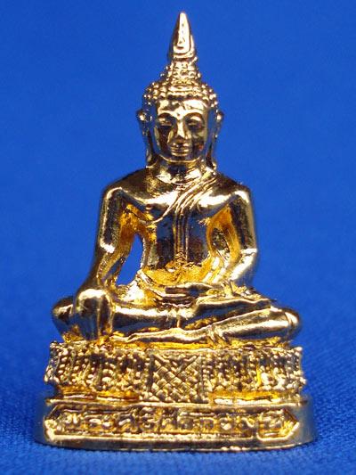 พระศรีศากยมุนี รุ่นเศรษฐีทอง เนื้อกะไหล่ทอง พระเครื่อง วัดสุทัศนฯ ปี 2539