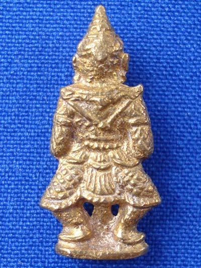 ท้าวเวสสุวรรณ(ท้าวเวสสุวัณ) รุ่นเทพคุ้มครอง เนื้อทองทิพย์ พระเครื่อง วัดสุทัศนฯ ปี 255 1