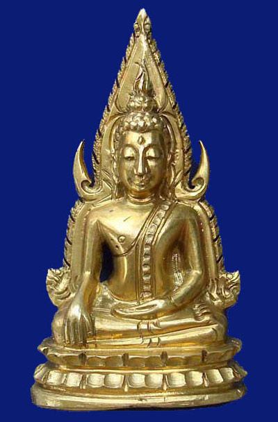 พระพุทธชินราชอินโดจีน ปี 2485 พิมพ์แต่ง สวยมากครับ