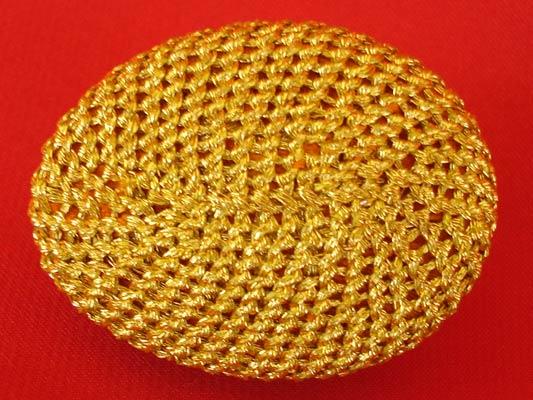 เบี้ยแก้ หลวงปู่เจือ วัดกลางบางแก้ว ถักดิ้นทอง แบบไม่มีหู บูชาจากหลวงปู่ สุดงามครับ 2