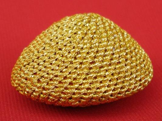 เบี้ยแก้ หลวงปู่เจือ วัดกลางบางแก้ว ถักดิ้นทอง แบบไม่มีหู บูชาจากหลวงปู่ สุดงามครับ